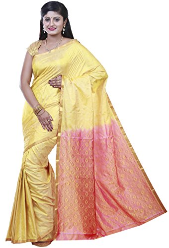 Kanchipuram silk sarees Emboss design Jari border Rich pallu By PSSB