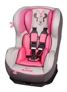 disney 101 116 701 kindersitz autositz cosmo sp miss minnie mouse ece gruppe 0 1 f r kinder. Black Bedroom Furniture Sets. Home Design Ideas