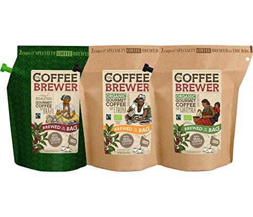 グロワーズカップ フェアトレードコーヒー 3袋セット
