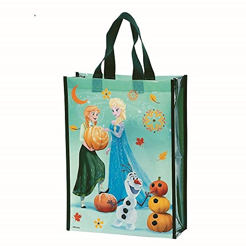 Frozen TRICK OR TREAT BAG Harvest Theme Halloween Candy 2016 Holiday (Frozen Trick Or Treat Bag)