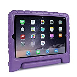 FAVOLCANO Multi Function Kids Friendly Child Shockproof Safe EVA Foam Protective Case with Stand/Handle for Apple iPad Air Tablet