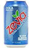Zevia All Natural Soda, Cola, 12 Ounce (Pack of 24) Frustration Free Package