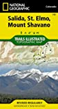 National Geographic Maps Salida/St Elmo/Shavano Peak Trails Illustrated (National Geographic Maps: Trails Illustrated)