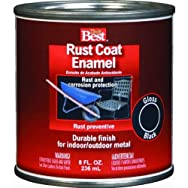 Rust Oleum1106Do it Best Rust Control Enamel-FLAT WHITE RUST ENAMEL