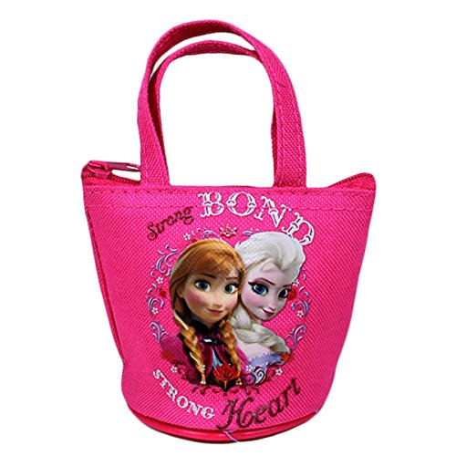 Officially Licensed Disney Frozen Mini Handbag Style Coin Purse - Anna and Elsa - 1