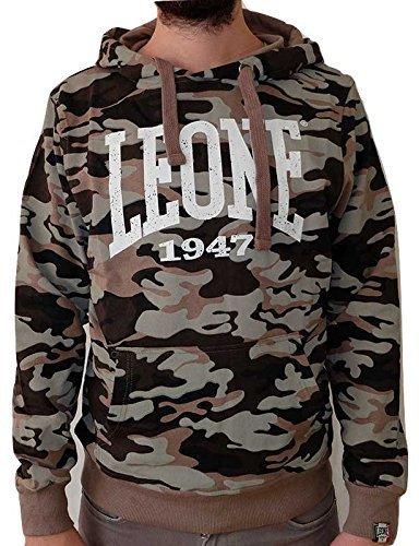 Felpa con cappuccio Leone Camouflage LSM591 (L)