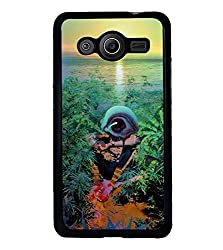 Droit 2D Printed Designer Back Case Cover for Samsung Galaxy Core 2 G 355H + 3D F1 Screen Magnifier + 3D Video Screen Amplifier Eyes Protection Enlarged Expander by DROIT Store.