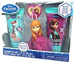 Disney Frozen Children's Bath Gift Set - Shampoo, Body Wash & Anna Scrubby