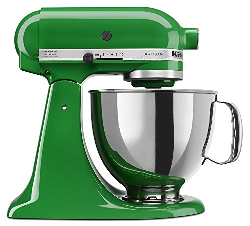 Kitchenaid Ksm150Pscg 5 Qt. Artisan Series With Pouring Shield - Canopy Green front-125252