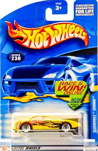 Hot Wheels Oldsmobile Aurora #230 Year: 2001