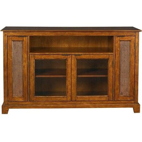 Cheap Home Styles Furniture Jamaican Bay Wood TV Stand in Mahogany (5535-10)