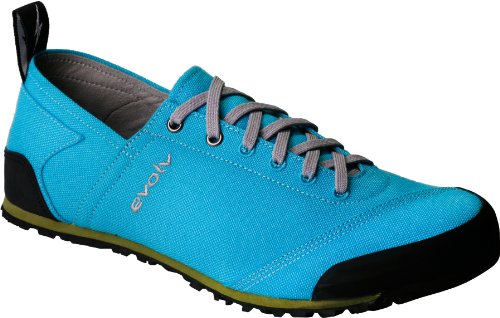 evolv Women's Cruzer Turquoise Approach Shoe,Turquoise,8 M US