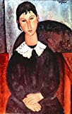 The Museum Outlet - Modigliani - Elvira - Canvas Print Online Buy (24 X 32 Inch)