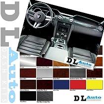 DL Auto Dash Kit Ford Expedition Eddie Bauer Edition 2000 2001 2002 - Basic Kit - Coffee Wood