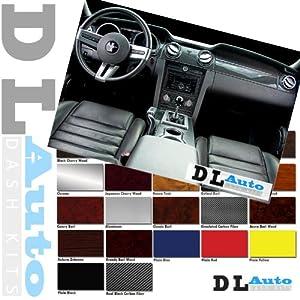 DL Auto Dash Kit Pontiac Vibe 2003 2004 - Full Kit W/ Automatic Transmission - Yellow