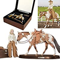 Breyer Horses Traditional The Elegance Collection Horse and Rider Centerpiece from Breyer Horses