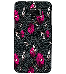 SAMSUNG GALAXY NOTE 5 FLOWERS Back Cover by PRINTSWAG