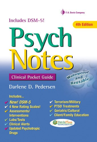 PsychNotes: Clinical Pocket Guide, 4th Edition (Daviss Notes)