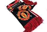 MANCHESTER UNITED FOOTBALL CLUB OFFICIAL LOGO SOCCER SCARF