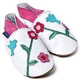 Zapatos Inch Blue de cuero blando blancol con