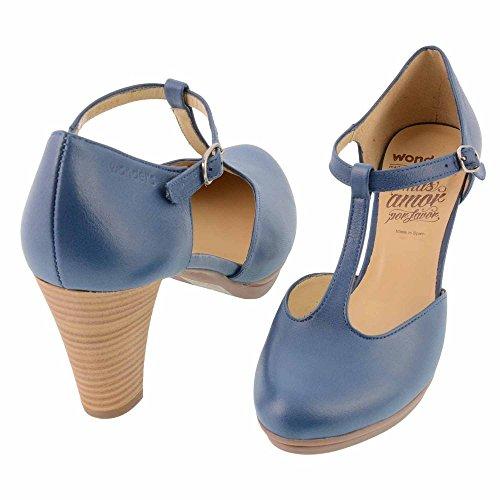 Wonders, Scarpe col tacco donna Blu blu 37