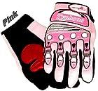 Typhoon Youth Kids Motocross Motorcycle Offroad BMX MX ATV Dirt Bike Gloves - Pink - Small