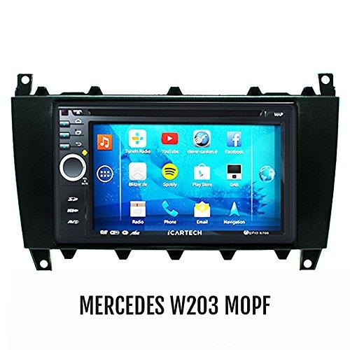 ?Alpha S700 für MERCEDES C-KlASSE W203 MOPF, CLC ? Das bärenstarke Android Radio mit GPS?Bluetooth?WiFi?Multi-Touch Display?3G?Navigation? Vorbereitung für: TV (DVB-T) & Digitales Radio (DAB+), Dash-Cam (DVR), - Apps-Erweiterung wie z.B. Radar-Warner, Billiger tanken, Spotify u.v.m, inklusive Wifi Mirroring: iPhone 4,5,5 c s Display Spiegelung, Navigationssystem, Autoradio