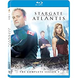 Stargate Atlantis: Season 3 [Blu-ray]