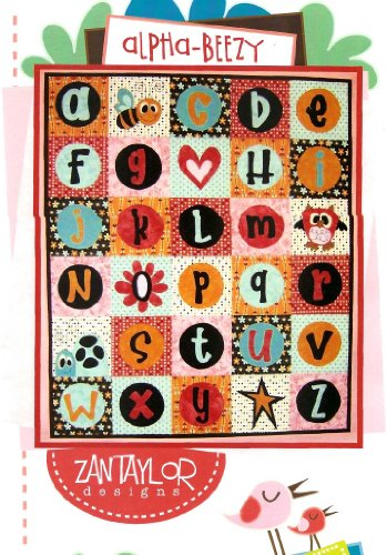 Alpha-Beezy Quilt Pattern