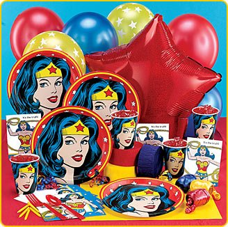 wonder woman birthday party supplies