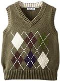 Kitestrings Little Boys' Cotton Argyle V-Neck Sweater Vest