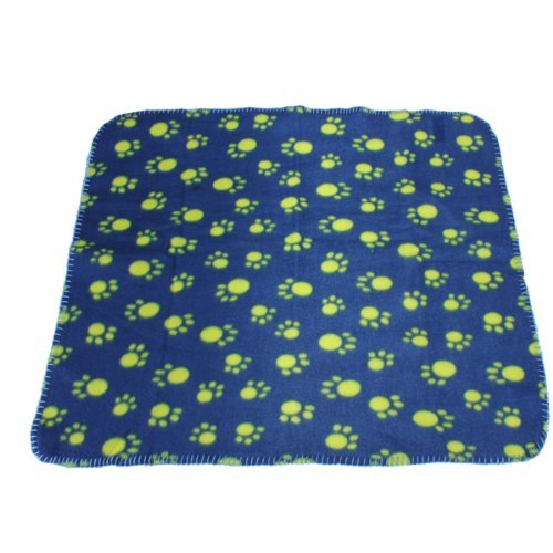 MECO(TM) Pet Dog Cat Blanket Mat Bed With Paw Prints ON SALE