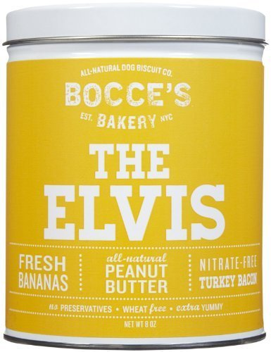Bocce's Bakery The Elvis Biscuit Tin - 8 oz by Bocce's Bakery (Bocces Bakery Elvis Tin compare prices)