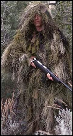 Hunters Camouflage Ultra Light Ghillie Suit by ANS