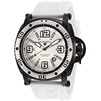 Swiss Legend 11503-BB-02-WHT Typhoon Analog Display Swiss Quartz White Men's Watch