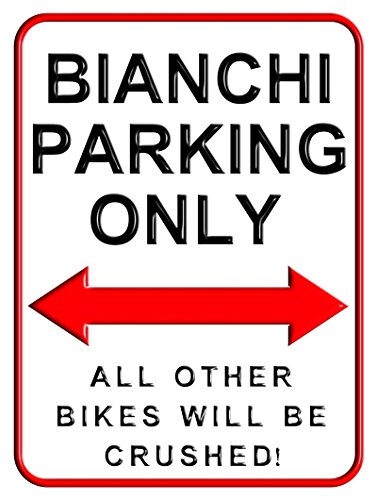 bianchi-parking-only-15-x-20-cms-small-metal-motorcycle-parking-wall-sign
