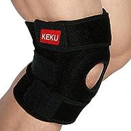 Keku Breathable Neoprene Knee Brace a…