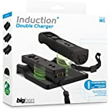 Wii - Induction Double Charger Black