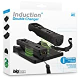 Wii - Induction Double Charger Wiimote Black [import allemand]