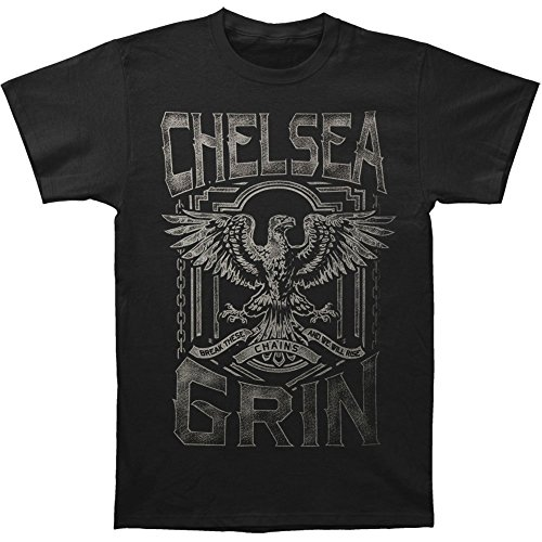 Arnoldo Blacksjd Chelsea Grin Men's Chain Breaker Slim Fit T-shirt Black X-Large