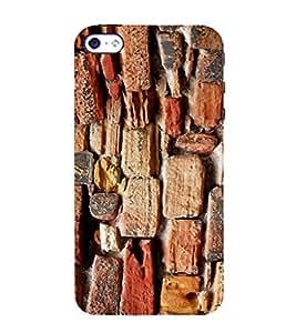EPICCASE Sea rocks Mobile Back Case Cover For Apple iPhone 5s (Designer Case)