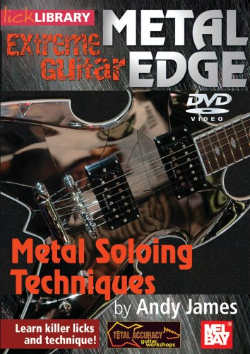 Lick Library: Metal Edge - Metal Soloing Techniques [DVD]