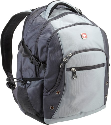 SwissGear SA1109 Silver Grey and Dark Grey Backpack