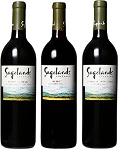 Sagelands Distinctive Washington Reds Mixed Pack, 3 x 750 mL