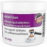 Reinigungstabletten für Kaffeevollautomaten 30 Tabletten á 2g - geeignet für Jura, WMF, Saeco, Bosch, Siemens, Melitta, Kaffe- & Espressomaschinen sowie Getränkeautomaten - Hergestellt in Deutschland - ohne Risiko kaufen