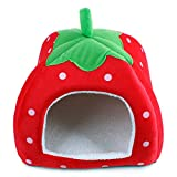 LanPet-New-Soft-Strawberry-Pet-Dog-Cat-Rabbit-Bed-House-Doggy-Removable-Cushion-Basket-Puppy-Home-Lovely-Pet-Cage-S21