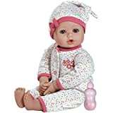 "Adora Playtime Baby - Dot, 13"" Washable Soft Body Play Doll for Children 12 months & up, with Bottle"
