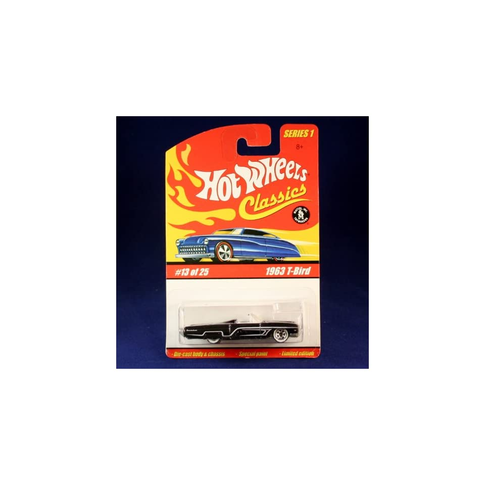 1963 T BIRD (PURPLE) 2004 Hot Wheels Classics 164 Scale SERIES 1 Die Cast Vehicle