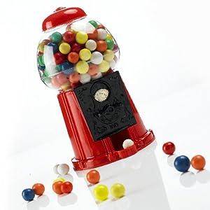 Retro Kaugummi-Automat GUMBALL MACHINE red