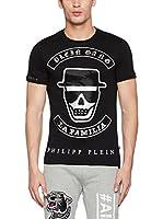 Philipp Plein Camiseta Manga Corta (Negro)